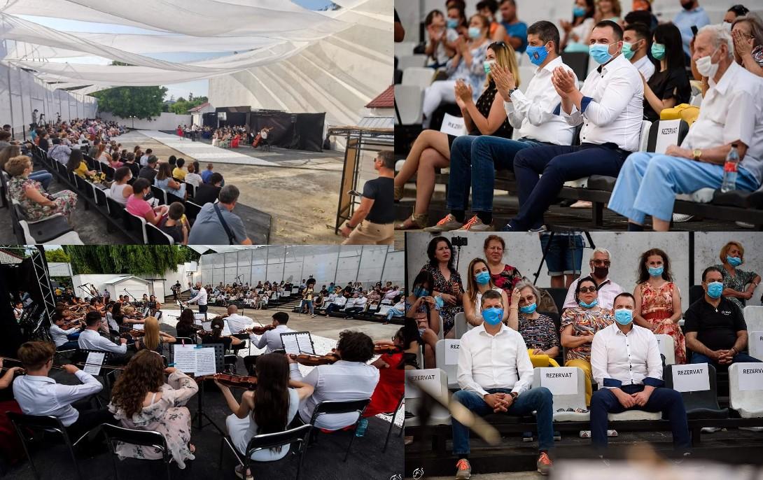 Concert cu public la Târgoviște. Respectarea regulilor de protecție împotriva COVID 19-Relativă