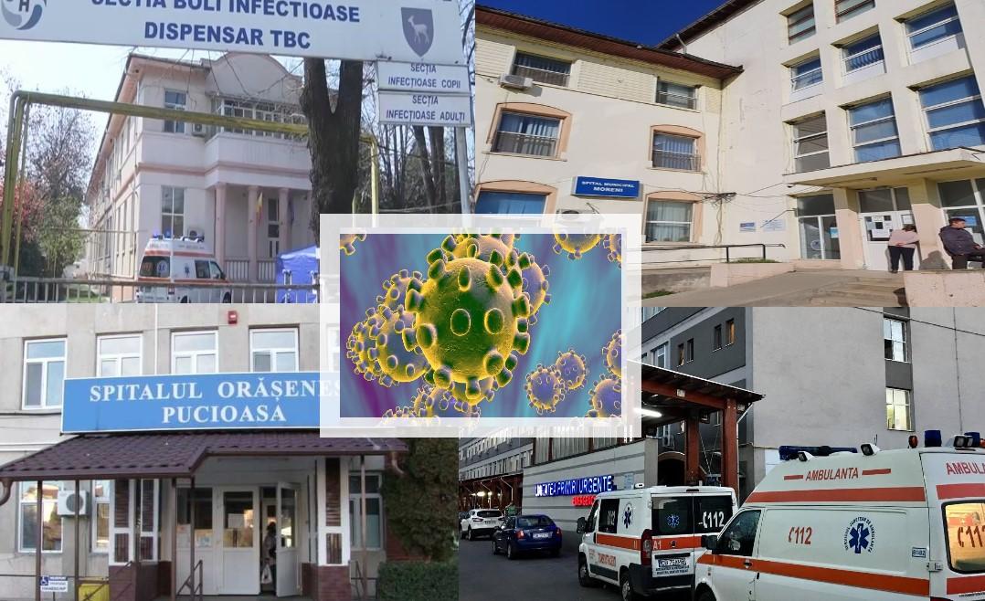 Trei județe(BV,DB,CJ) au nevoie de spitale noi pentru pacienții cu coronavirus. Focar imens (nou) și în DB.