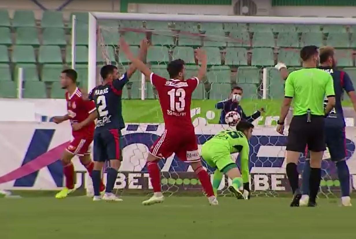 Sepsi-Chindia 2-0 (1-0). Dâmbovițenii cu un picior în liga a II-a