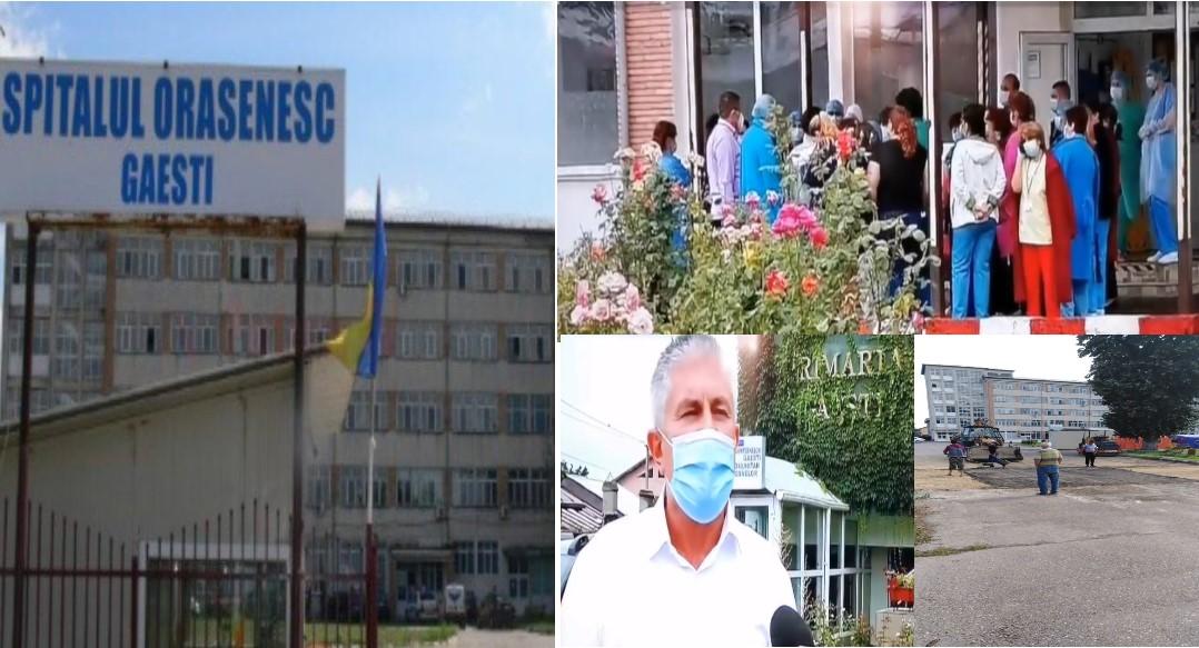 Teamă, scandal, modificări. Sau cum a devenit spitalul de  la Găești spital suport COVID 19.