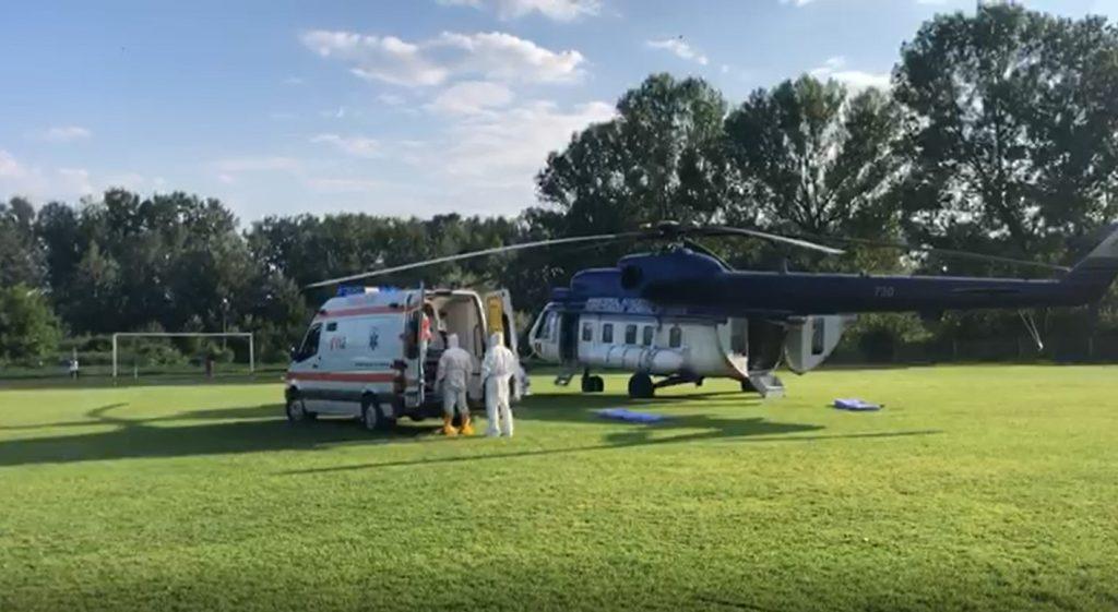 elicopter coronavirus Targoviste