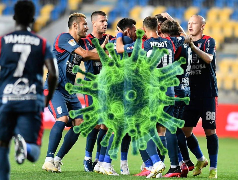 Șoc COVID-19 în liga I!   2 jucători de la Chindia Târgoviște diagnosticați pozitiv cu noul coronavirus. Ce se întâmplă la echipa dâmbovițeană.
