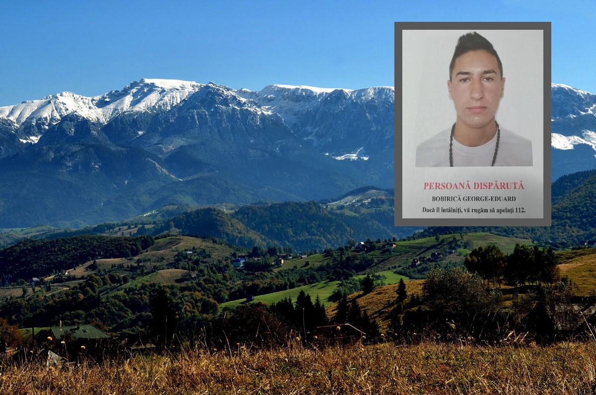 Tânăr dispărut de aproape o lună (posibil în zona munților Bucegi). Poliția solicită ajutorul celor care ar putea deține informații