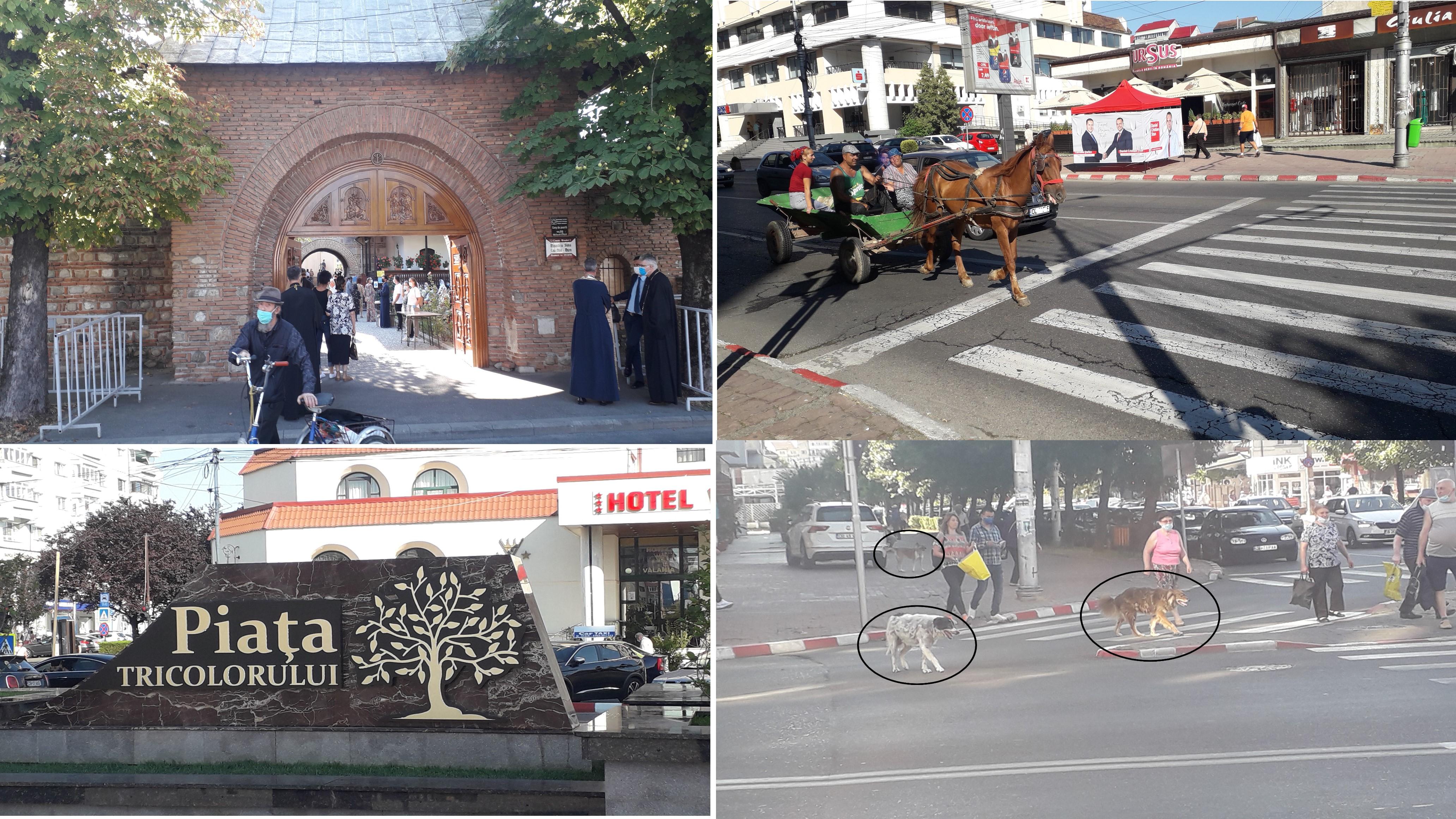 (Foto-Video) Oraș european, cu