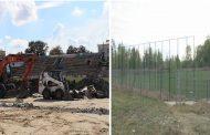 FOTO-Care e stadiul investițiilor în infrastructura pentru fotbal de la Târgoviște (date și imagini)