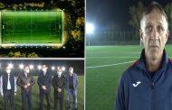 Teren de fotbal (sintetic) inaugurat la Târgoviște, în prezența șefilor FRF. Ce spun cei de la Chindia Târgoviște (video)