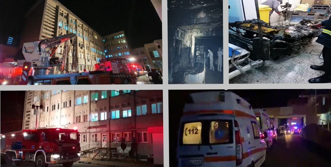 Incendiu Spital Piatra Neamț: România-Nimic nou, doar o poveste repetată dureros