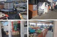 FOTO- Cum arată cea mai mare piață agroalimentară din Târgoviște, cu câteva ore înainte de închidere (la interior)