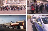 Târgoviște: Protest al micilor comercianți în fața Prefecturii Dâmbovița-