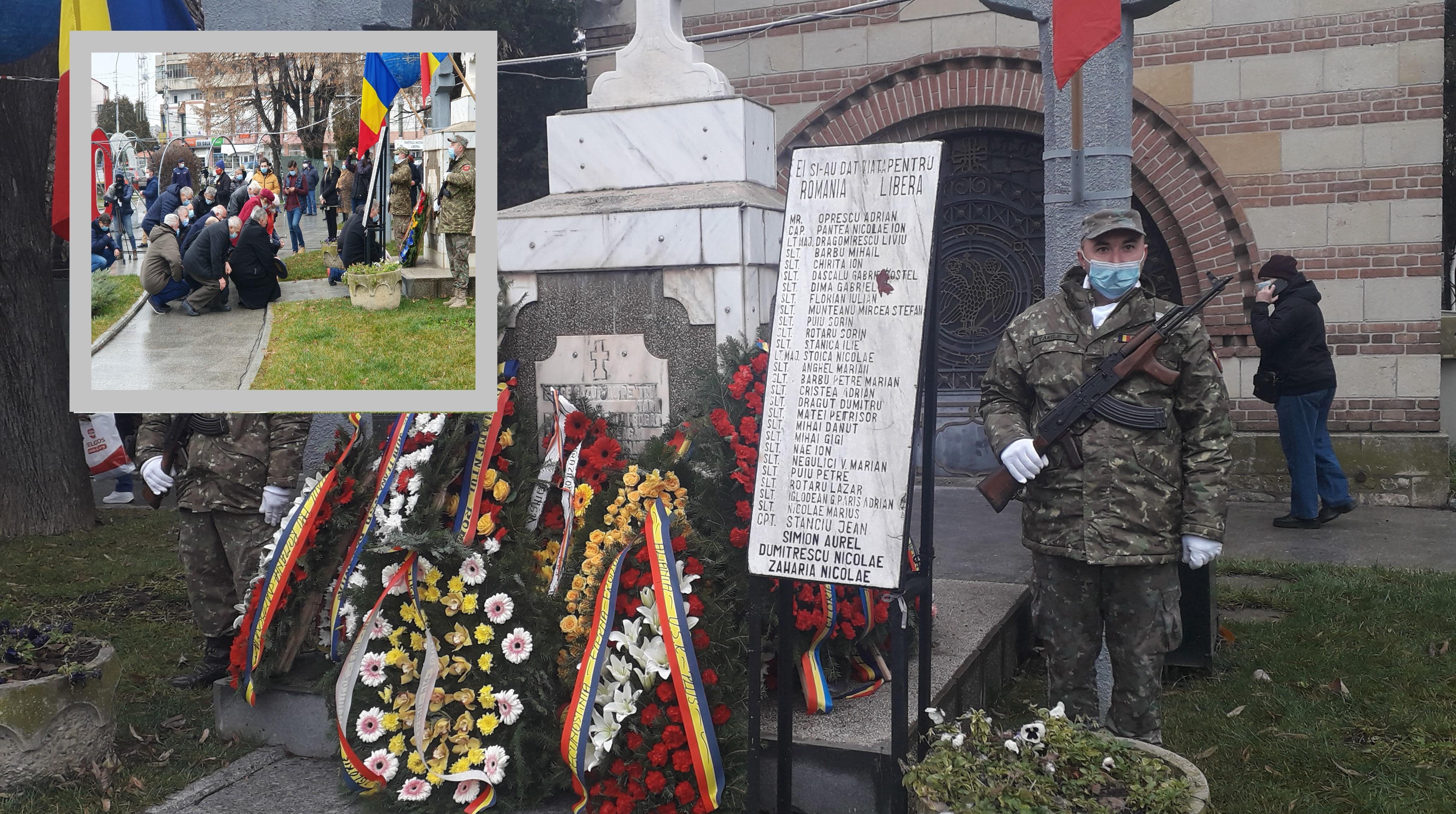 (Foto-Video) În loc de aducere aminte. 22 Decembrie 2020-Târgoviște