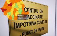 DB - COVID-19, 9 ianuarie: 6 localități în scenariul roșu, 71 de cazuri noi, 20 de centre de vaccinare deschise. Toate datele