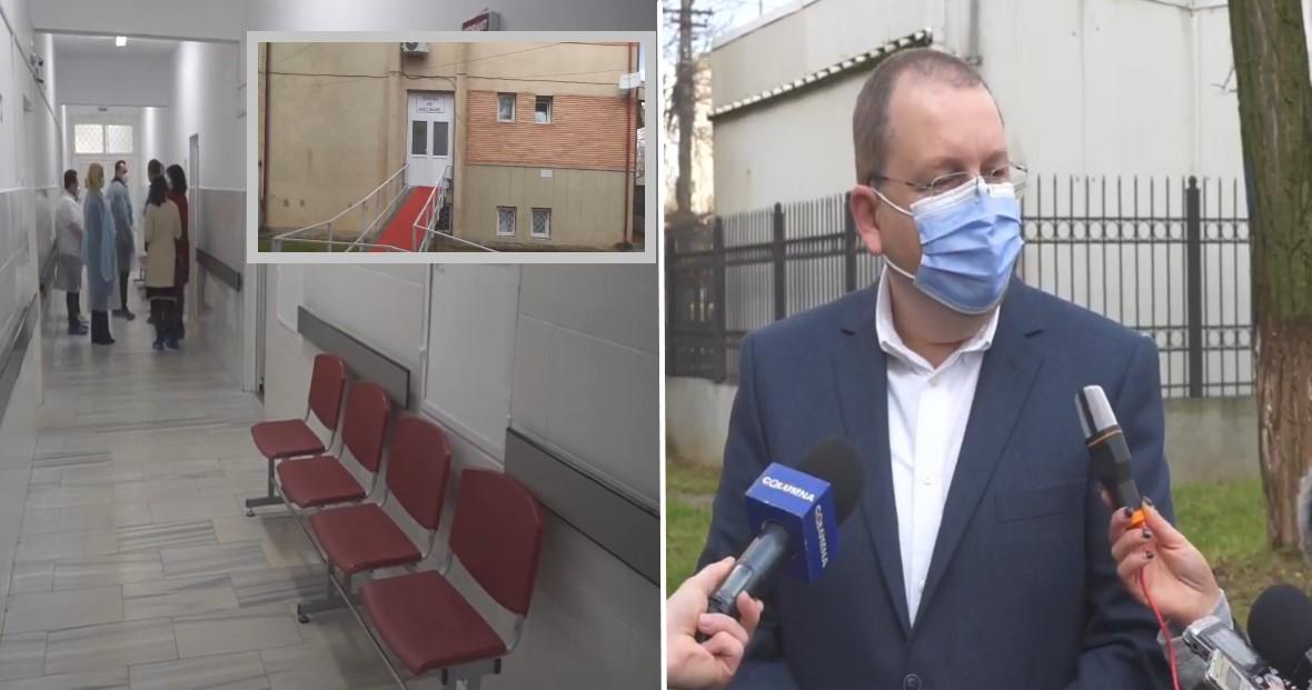 La centrul de vaccinare de la Târgoviște (SJUT) 400 de persoane au fost vaccinate. De ce nu s-a vaccinat directorul spitalului