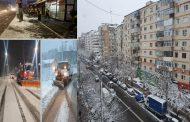Târgoviște: Cum au/am gestionat prima zăpadă din 2021 (Galerie foto)