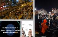 (Video) A doua seară de proteste și la Târgoviște. A fost reținut, pentru instigare la violență, un participant
