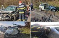 Priseaca (DN 72 A), jud. DB: Accident cu 2 morți și 2 răniți grav, după o coliziune între două autoturisme(foto)