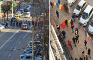 (Video) Târgoviște (29 martie 2021)-Protest anti-mască, anti-restricții covid-19. Nu sunt nici mai răi, nici mai buni. Sunt și ei