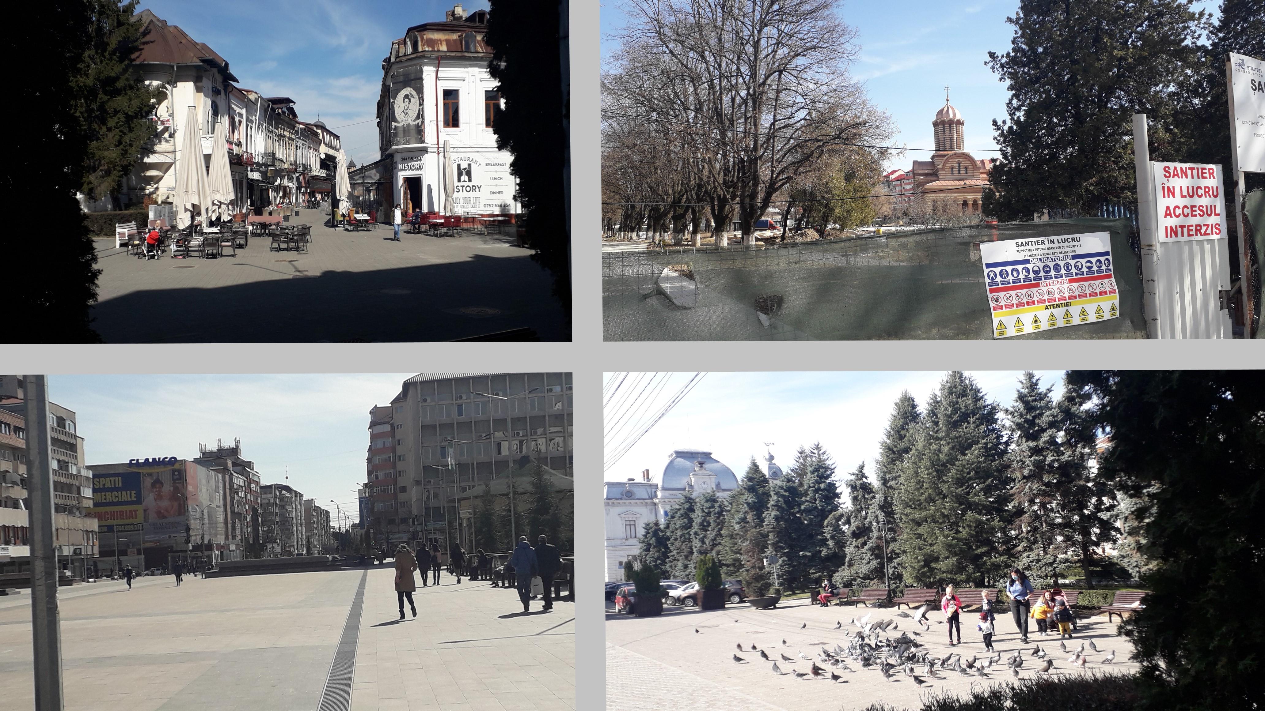 (Foto-Reportaj) - Târgoviște în scenariul roșu (5 martie 2021). Sună dramatic. Totuși...