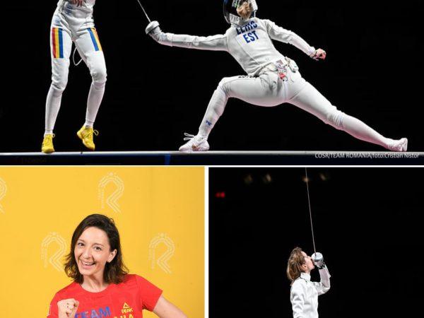 În prima zi cu medalii, la JO de la Tokyo, România câștigă argintul, la spadă feminin, prin Ana-Maria Popescu. Ce au făcut românii în prima zi cu medalii