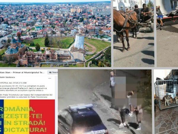 """Târgoviște altfel: Proteste anti-vaccin, anunțate pe pagina Primăriei, câini evacuați din apartamente de bloc, hoți de fier vechi """"vânați"""" de polițiști și cetățeni la măturat stradal… de semințe"""